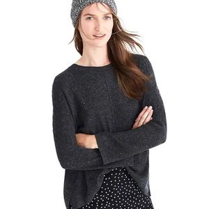 Madewell North Road Pullover Grey Sweater XXS